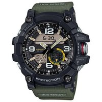 g шокирующие часы оптовых-Высокое качество мужская G спорт Gg1000 G 500 компас термометр функции часы светодиодные хронограф шокирующие все функции работы водонепроницаемые часы