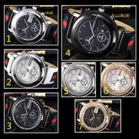 productos casuales al por mayor-Diamante relojes de diseño con fecha nueva marca de moda de lujo en hombres y mujeres fecha nuevo reloj de acero relojes de cuarzo para hombres