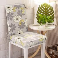 sandalye mazareti toptan satış-Sandalye kapakları için elastik koltuk kılıfları düğün veya parti dekorasyon ev tekstili düğün seçmek için 54 tasarımları ...