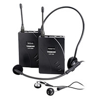 Wholesale takstar tour guide system - One Set Takstar UHF-938  UHF 938 Wireless Tour Guide System UHF frequency wireless microphone Transmitter+Receiver+MIC+earphone