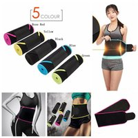 Slimming Waist Training Belt Warm Body Shaper Corset Yoga Fitness Tight  Shaper Belt Waist Belly Band 5 Colors 100pcs LJJO4095 1473921d9