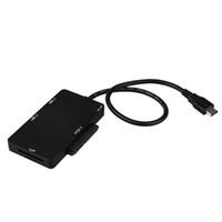 cabo sata para laptop venda por atacado-USB3.0 Tipo-C Adaptador de Interface HUB TF Leitor de Cartão SD USB-C para SATA Cabo Adaptador para Macbook telemóveis Laptops