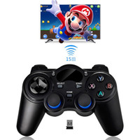 Wholesale wireless keyboard mini smartphone - 2.4G Wireless Game Controller Gamepad Joystick mini keyboard remoter for universal Android tv boxes and Smartphone GR1