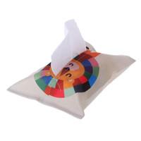 ingrosso mescolando carta-Sacchetto per pannolini di Home Decor per la casa di immagazzinaggio di carta per sacchetti di carta e tovaglioli in cotone