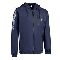 nylon frühjahr jacken großhandel-Luxuy Herren-Jacken-dünne Marken-Designer-Jacken-Mantel-beiläufige Windjacke mit Logo-im Freiensport-Abnutzung Frühlings-mit Kapuze Oberseiten-Kleidung XL-5XL