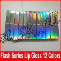 Wholesale glitter lip gloss for sale - Flash Lipstick Lip Gloss Retro Matte Liquid lipstick Lipgloss colors flash glitter gloss ANGEL SANDY TWIG MOCHA RUBY WOO