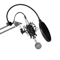 Wholesale Xlr Adapter - ERBM-800 Condenser Microphone & NW-35 Scissor Arm Stand XLR Cable & Adapter Kit professional recording microphone music create