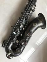 instruments de musique achat en gros de-Nouveau SUZUK saxophone ténor si bémol japonais Musique Instrument bois entier Black Nickel Or Sax Professionnel