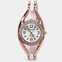Wholesale imitation electronics resale online - Women s luxury jewelry imitation pearl necklace gold necklace women s watch strap quartz watch bracelet watch electronic