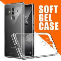 Wholesale Nova Pro - Ultra Thin Slim Soft TPU Flexible Crystal Clear Transparent Rubber Gel Silicone Cover Case For Huawei P10 P9 Plus Mate 10 Pro V10 Nova 2S