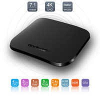 Wholesale Wi Fi Tv Box - Android 7.1 TV Box MECOOL M8S PLUS W Amlogic S905w TV Box 1GB RAM + 8GB ROM 2.4G Wi-Fi 100Mbs Support stalker Magh25x