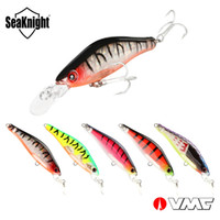 Wholesale minnow lure vmc online - Brand Mini Minnow Wobblers Suspending Fishing lure mm g Carp Pike Catfish VMC Hooks durable swimbaits
