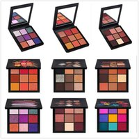 ingrosso nuovo colore corallo-New Beauty Makeup Eyeshadow Palette 9 colori ossessioni pallets 6 Style Gemstone Coral Eye Shadow spedizione gratuita