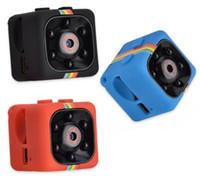 enregistreur de vision nocturne achat en gros de-SQ11 Mini Caméra HD 1080 P Caméscope Vision Nocturne De Voiture DVR Enregistreur Vidéo Infrarouge Sport Caméra Numérique Support Carte TF Caméra DV