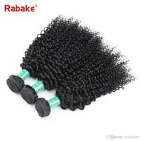 precio del pelo humano rizado afro al por mayor-Raw Indian Afro Kinky Curly Virgin Paquetes de cabello humano Rabake Precios baratos Kinky Curly Peruano Extensiones de tejido de cabello humano brasileño