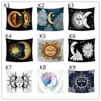 Wholesale weaving tapestries resale online - 200 CM Large size tapestry designs hanging wall home decoration printing beach towel shawl bohemian mandala tablecloth yoga mats