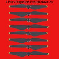 dj sahne toptan satış-Yeni Varış 4 çift 8 adet 5332 S DJI Mavic Hava Pervane Blade prop için Sahne için DJI Mavic Hava Drone RC Quadcopter Aksesuarları