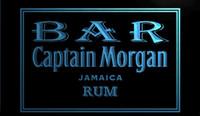 kapitän morgan neon bar licht großhandel-LS1253-b-BAR-Captain-Morgan-Rum-Neonlicht-Schild
