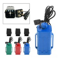 Wholesale port bike - Waterproof USB DC Port 4x 18650 Power Battery Storage Case For Bike LED Light