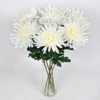 Wholesale flower making supplies resale online - Fashion Artificial Simulation Flower Hand Made Chrysanthemum Flowers Bardian Display Home Dinning Bar Wedding Decorations Supplies hy dd
