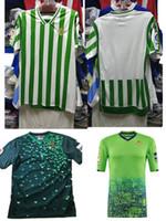 echt c großhandel-2018 2019 REAL BETIS fußball Jersey 18 19 heimwärts JOAQUIN WILLIAM BOUDEBOUZ C. TELLO A. GUARDADO HULIO 17 thai qualität fußball shirts xxl