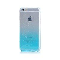 капли для воды оптовых-Ультратонкий TPU прозрачный чехол для телефона iPhone 8 7plus 6s 5s с градиентом цвета капли воды