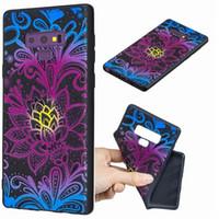 caja del teléfono mariposa negro al por mayor-Moda graba en relieve negro caso de TPU suave para Sony L2 XA2 Ultra XZ2 Compact mariposa flor Unicornio león Panda de mármol cubierta del teléfono de dibujos animados de lujo