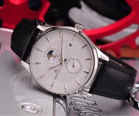modern erkekler seyretmek toptan satış-2018 Men's Watch, modern erkekler için tasarlanan yeni bir saat, üç boyutlu ızgarası ile bu saatini tanıttı.