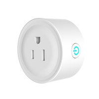 Wholesale power plug timer - Smart Home WIFI Power Plug Compatible with Alexa Echo Sonoff Socket Outlet Auto Timing Timer Switch Phone App Remote Control Better Xiaomi