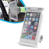 автомобильный держатель телефона оптовых-360 Degree Car Back Seat Headrest Mount Holder for iPad mini/Air Tablet PC Phone