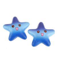 Wholesale latex movie stars - 2018 New Kawaii toys Squishy Slow Rising Rainbow Star Cartoon Soft Cake Squeeze Simulation Mobile Phone Straps Kids Gift Jumbo
