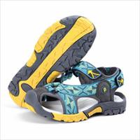 ingrosso sandali estivi per ragazzi-Sandali per bambini nuovi arrivi Sandali per bambini Sandali con punta chiusa per piccoli e grandi sport Scarpe estive per bambini Taglia Eu 25-38