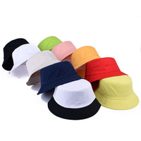 Solid Color Bucket Hat for Men Women Fisherman Cap oldable Retro Portable Sun  Hat Visor Casual Outdoor Wide Brim Dome 5b6d48b10dba