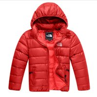 Wholesale cotton blends kids outwear coats online - New Style Children s Down Cotton Coat Winter Warm Baby Boys Clothing Girls Outwear Kids Coat cm