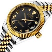 tevise роскошные мужчины оптовых-TEVISE мужчины часы автоматический Self-Wind механические часы из нержавеющей стали роскошные наручные часы Relojes Hombre