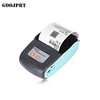 Wholesale Printers Free Shipping - free shipping 58mm Portablle Android Bluetooth Thermal Printer Receipt Printer for mobile POS printer with bluetooth ticket android and ios