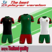 Wholesale Big M Discount - Morocco 2018 World Cup soccer jersey kits shirts ready for sale! The final version is based on the formal version. Now order a big discount