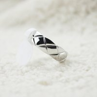 Wholesale 18k gold rings forever love - Matelasse Ring France COCO Rings Modern Design Women Party Rhombus Rings Forever Love