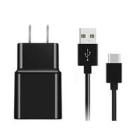 cables de carga de galaxias al por mayor-Cargador con cable USB de tipo C Cable de carga Cargador sincronizador de datos USB para Samsung Galaxy S8 S8 Plus