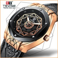 tevise роскошные мужчины оптовых-TEVISE New Mens Watches Top  Automatic Watch Men Mechanical Watches Waterproof Reinforced Glass Luminous Wriswatches