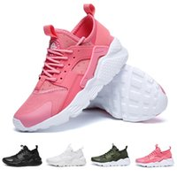 Wholesale 2018 Hot Sale Air Huarache Shoes Huaraches Rainbow Ultra Breathable Shoes Mens Womens Huraches Multicolor Hurache Sneakers xz152