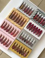 Wholesale pcs collections - Kelly Birthday Collection Liquid Lipsticks Cosmetics 6 Pcs Matte Velvet Lip Gloss Makeup Set I Want It All Lipgloss