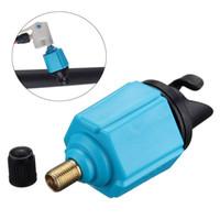 şişirilebilir kürek toptan satış-Yeni Şişme Bot Pompa Vana Adaptörü Sup Hava Vana Paddle Kurulu Aksesuarları SUP elektrikli pompa adaptörü