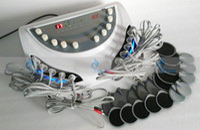 Wholesale Electro Stimulation Machines - EMS electric muscle stimulator body slimming pads equipment electro muscle stimulation weight loss body massage machine