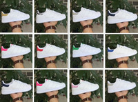 Wholesale Mahogany Ship Models - 2018 classic models Men's Women's Shoes White Shoe Laser Dazzle Colour Superstar Shell Head Sneakers, Free Shipping