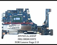 Wholesale laptop i5 8gb - High quanlity ZIVY0 LA-A921P for Lenovo Yoga2 13 Laptop Motherboard FRU:5B20G55972 SR1EF I5-4210U 8GB RAMs 100% Fully Tested