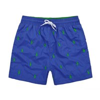 Wholesale fashion swimsuit - Wholesale-2018 Brand New Mens Shorts Beach Shorts fashion Men Casual Casual Loose small horse Shorts Summer Swimsuit