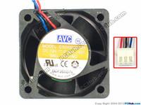 avc 12v dc fan großhandel-AVC DS04020B12S -007 Server Quadratischer Lüfter DC 12V 0.40A 40x40x20mm 3-adrig