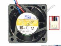 avc 12v dc fan venda por atacado-AVC DS04020B12S -007 Servidor Quadrado Ventilador DC 12V 0.40A 40x40x20mm 3-fios