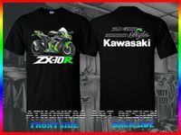 eua abs venda por atacado-Camisa do filme 2019 Ninja Zx-10R Abs Krt Edição Motorsport EUA Tamanho T-Shirt Preta M-3Xl Nova Moda T Shirt Gráfico letra